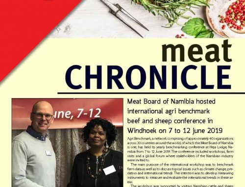 MEAT BOARD OF NAMIBIA NEWSLETTER 3/2019
