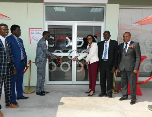 BANK WINDHOEK OPENS OKAHAO BRANCH