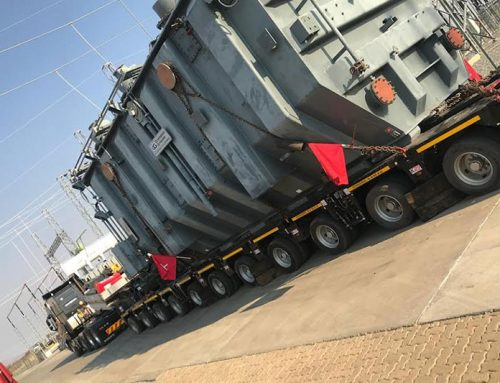 NAMPOWER 175 TONNE TRANSFORMER HEADING TO SOUTH AFRICA