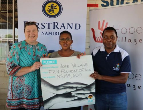 FIRST RAND NAMIBIA FOUNDATION DONATES N$189 600 TO HOPE VILLAGE