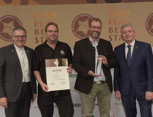NBL CELEBRATES ANOTHER EUROPEAN BEER STAR AWARD