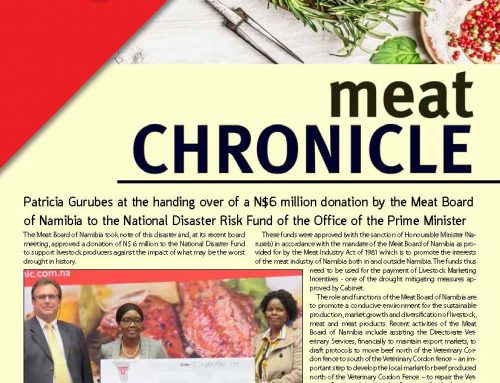 MEAT BOARD OF NAMIBIA NEWSLETTER 04/2019