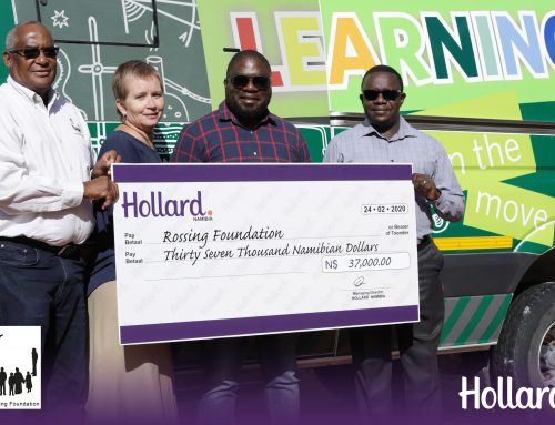 HOLLARD & ROSSING FOUNDATION SUPPORTS NAMIBIAN YOUTH