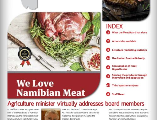 MEAT BOARD OF NAMIBIA NEWSLETTER 4/2020