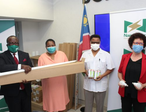 NAMPOWER HANDS OVER ENERGY EFFICIENT LIGHT BULBS TO MINISTRY OF HEALTH AND SOCIAL SERVICES