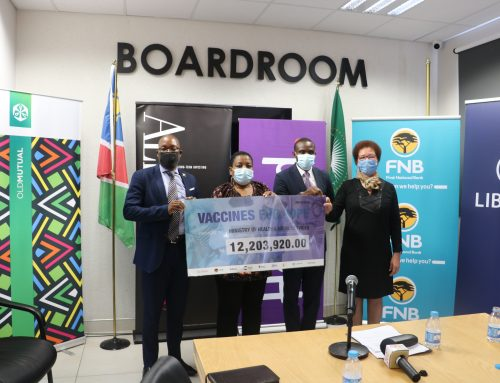 PRIVATE SECTOR CONTRIBUTES TO VACCINES FOR HOPE COALITION